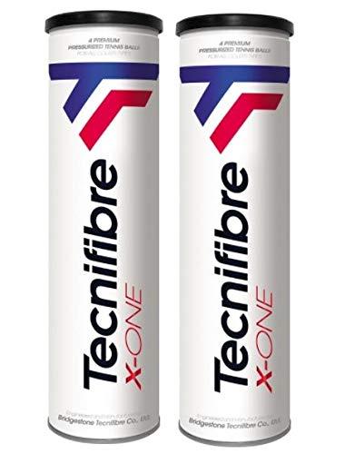 Tecnifibre Pelotas Tenis X-One 8 (2x4)