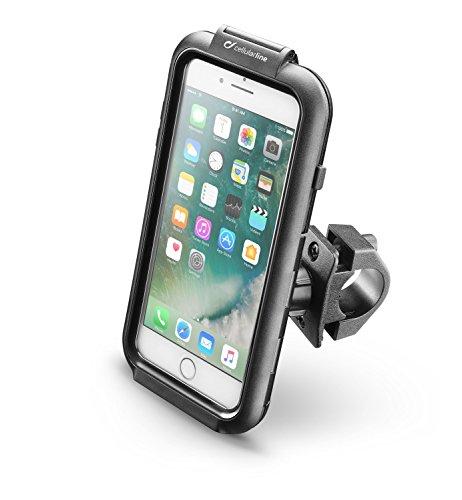 Cellularline SMIPHONE7PLUS Fundas Iphone8 para Moto, Negro