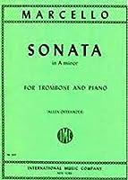 マルチェッロ: ソナタ イ短調/インターナショナル・ミュージック社/トロンボーンとピアノ