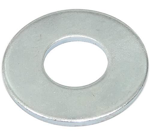 AERZETIX - Set mit 20 breiten Unterlegscheiben - M20-48mm - 3mm - Verzinkter Stahl - Metall - DIN9021 - DIY - C44427