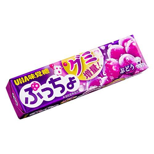 味覚糖 ぷっちょ ぶどう 10粒×120個