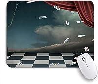 マウスパッド ヴィンテージギアフレーム ゲーミング オフィス おしゃれ がい りめゴム ゲーミングなど ノートブックコンピュータマウスマット 24cm x 20cm