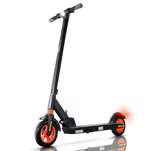 urbetter Monopattino Elettrico Pieghevole, E Scooter Elettrico Adulti,velocità Massima 25km/h,25km di Autonomia, Motore 350W, 3 modalità di velocità, Kirin S1 (A Nero)