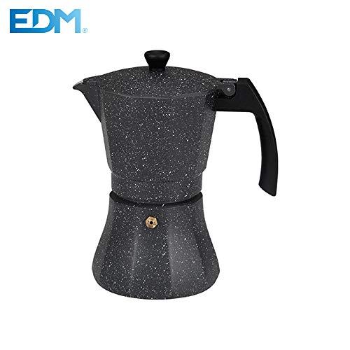 Cafetera 12 tazas aluminio para induccion edm