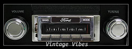 1973-1979 Ford Pickup Truck Custom Autosound USA-230 AM/FM Stereo Radio 200 watts