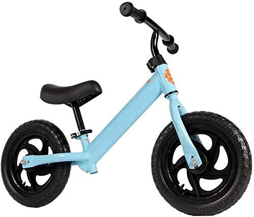 Triciclo Passeggino, er Bambini Triciclo Bilancia Bilancia Bilancia leggera Bilanciamento for bambini Auto 2-6 anni Bambino antico senza pedale Bicicletta a due ruote da 12 pollici Pneumatico Pneumati