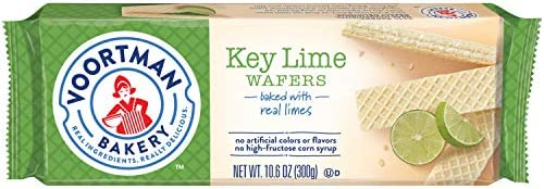 Voortman Bakery Key Lime Wafers, 30 Count