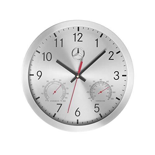 FR Brand Original - Reloj de pared para Mercedes Benz 2020 con termómetro e higrómetro