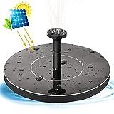 Newin Star Solar, Bomba de Fuente, 1W Círculo jardín de energía Solar de la Bomba de Agua de la Bomba de la Fuente por Birdbaths estanques de jardín de la Bomba de la Fuente