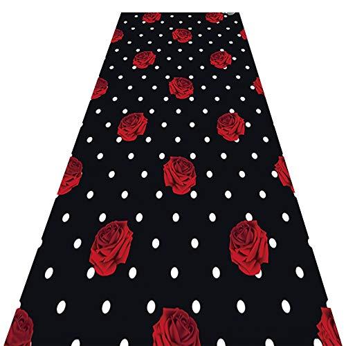 alfombra de Pasillo Romántico Moderno, Extra Largo Corredor