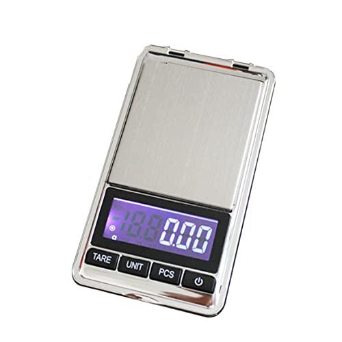 KKAAMYND Balanza electrónica portátil de precisión, Bolsillo, LCD, balanza de joyería Digital, balanza de Peso, balanzas de Cocina