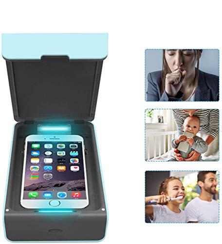 Bester der welt Desinfektion mit UV-Sterilisator, tragbare UV-Lampe Tragbare Desinfektionsbox für Telefon, UV-Licht…