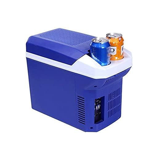Z-Color Nevera portátil de Coches, Coches 8L Frigorífico Mini multifunción Coche de refrigerador de Doble Modo de Control de Temperatura hogar del Coche de Doble Uso