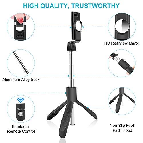 Palo-Selfie-Tripode-Abafia-3-en-1-Selfie-Stick-Bluetooth-Extensible-Rotacion-de-360--con-Control-Remoto-para-iPhone-1111-Pro-XGalaxy-10S11Honor-P30-Pro-Otros-Android-e-iOS-45-65