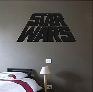 STICKERSFORLIFE Ik2211 Wall Decal Sticker Logo Star Wars Children's Room Living