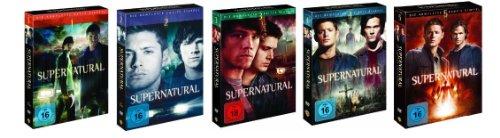 DVD Set Supernatural Staffel 1+2+3+4+5