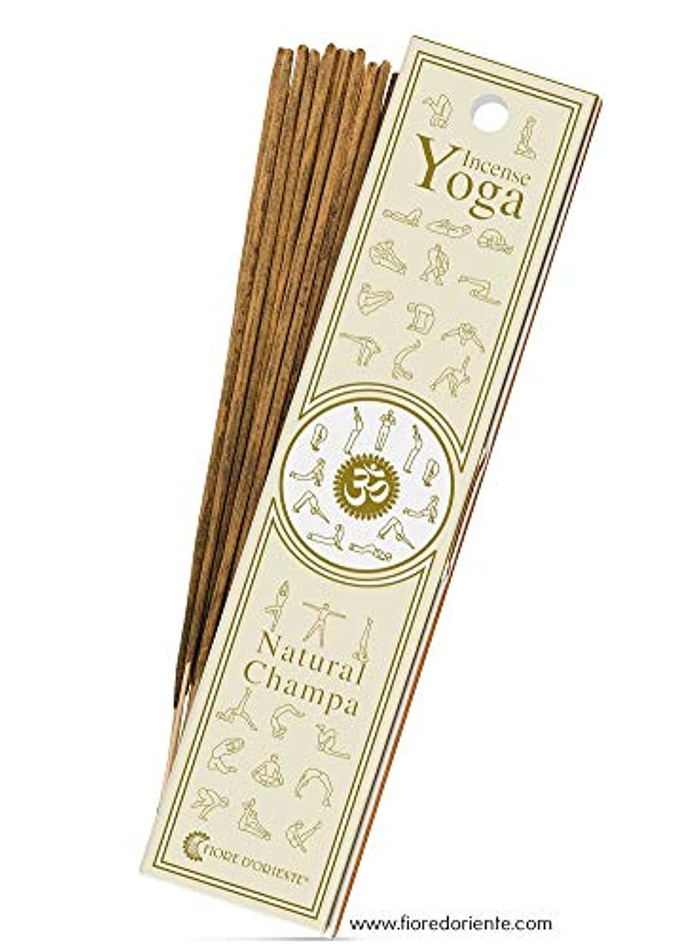 リサイクルするケーキ申し込むNatural Champa?–?ヨガ?–?Natural Incense Sticks 10?PZS?–?Natural Incense会社