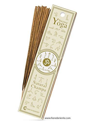 Natural Champa Yoga Incense Lot de 10 bâtonnets Fleur d'Orient