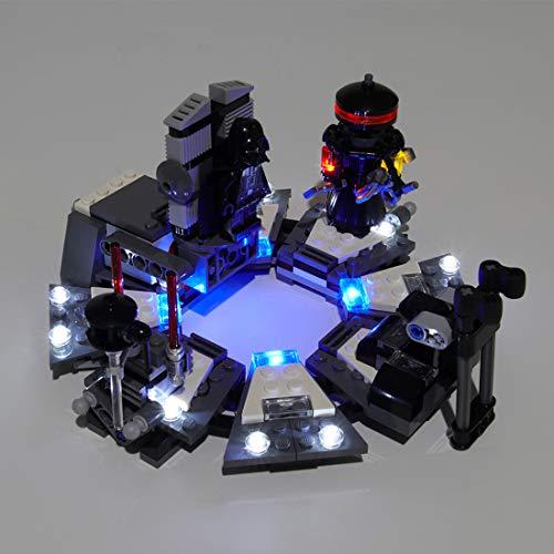 Licht-Set Für The Birth of Darth Vader Modell - LED Beleuchtung Light Kit Kompatibel Mit Lego 75138 (Modell Nicht Enthalten)