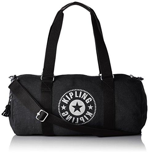 Kipling onalo sporttasche, 18 liter, lively Schwarz