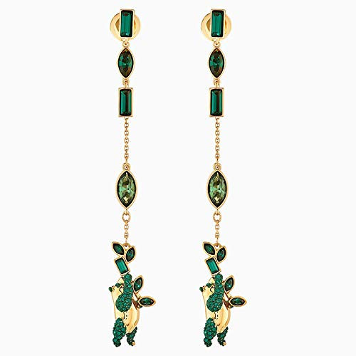 yuge Joyería de las mujeres Hermosa Tierra Verde Cristal Serie Pulseras y Collares Anillo Joyería Set Banquete Joyería Correa 5535886