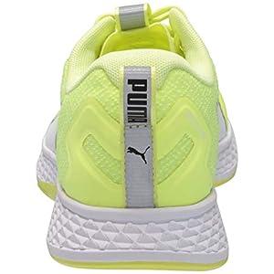 PUMA mens Speed Running Shoe, Fizzy Yellow-puma White, 14 US