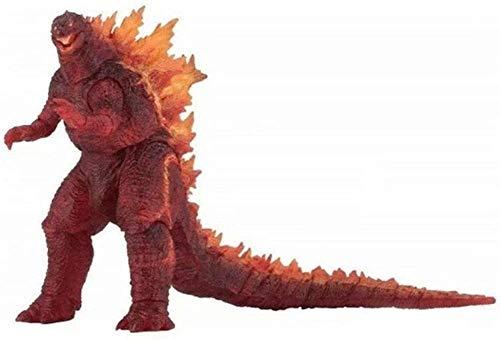 ZPTECH Exquisitas figuras de acción El rey de los monstruos Figura roja GODZILLA Figura de acción Figura de acción Feng (color predeterminado)