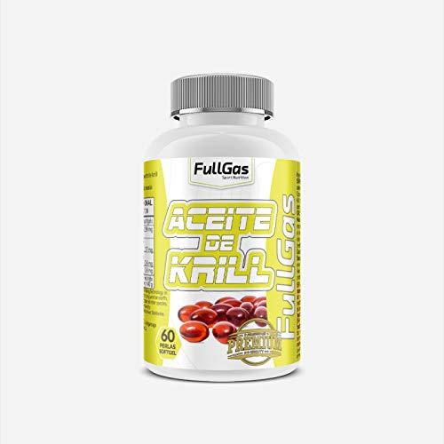 FullGas - Aceite de Krill Superba Boost™ 60 Softgel