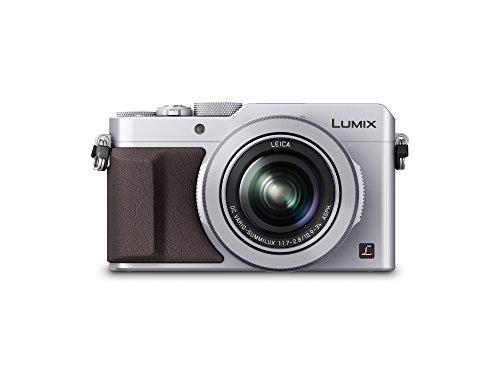 "Panasonic Lumix DMC-LX100 - Cámara compacta de 12.8 MP (Pantalla de 3"", Zoom óptico 3X, Sensor Mos de 4/3""), Color Plateado (Importado)"