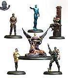 Knight Models Juego de Mesa - Miniaturas Resina DC Comics Superheroe - Batman Watchmen Bat Box Set