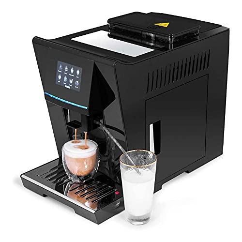 WSJTT Automatyczne maszyny do kawy,programowalne inteligentne maszyny do kawy z młynkiem fasoli,maszyna do espresso Home Office dla biur,barów i kawiarni