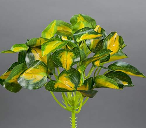 Seidenblumen Roß Buntnessel 22cm grün-gelb ZF Kunstpflanzen künstliche Pflanzen Nessel