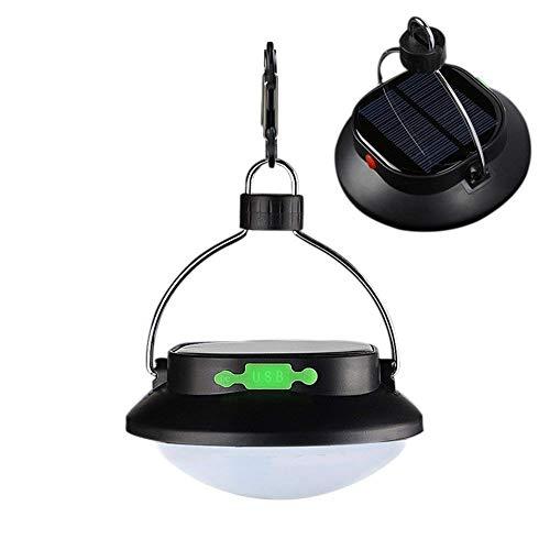 Cacoffay wasserdichte 60 LEDs Solarlampe, 2 Stücke Solar Leuchte, Bewegungsmelder, für Nacht Angeln Nachtarbeit Beleuchtung Camping Feld Garage Auto Überholung