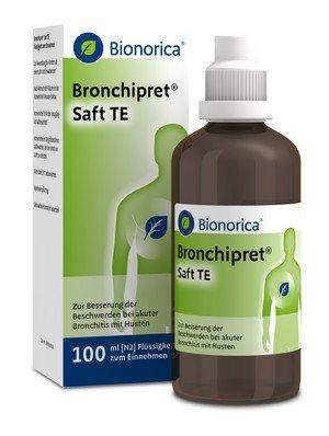 Bronchipret® Saft TE Spar-Set 2x100ml. Gegen Husten, festsitzenden Schleim und Entzündung in den Bronchien. Ideal für Kinder ab 1 Jahr.