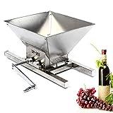 Kaibrite Prensa de zumo de vino, máquina de picar en casa, manual, trituradora de fruta, polvo portátil