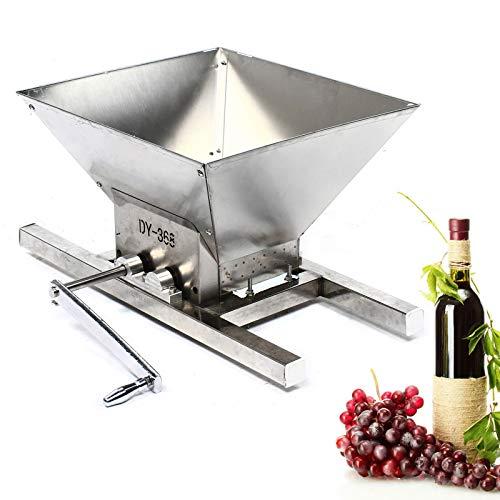 Kaibrite Prensa de zumo de vino, máquina de picar en casa, manual,...