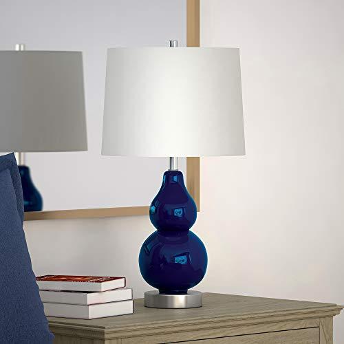 Henn&Hart TL0043 Lumiary Navy Blue Lamp, One Size
