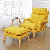 ZXPPL F3 Lazy Chair Sofa Armlehne Schlafzimmer Freizeit Seniorenpflege Japanische Krankenschwester Stuhl Liege Verstellbarer Stoff Sofa Stuhl Lazy High Back Chair