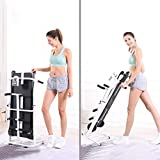4-in -1 Folding Walking Treadmill Running Machine for Small Space,Mechanical Compact & Inclined, LED...