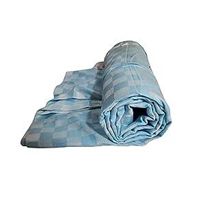 Riyashree Organic Cotton Silky Soft 3D Bhagalpuri Dull chadar Designer Blanket & Comforter ( 52*100 in ) CODULL 038