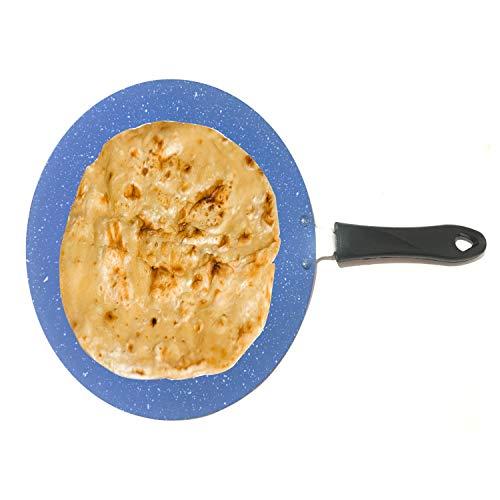 Aluminium Chapati Tawa Nonstick Concave Roti Tawa Chapati Tawa Paratha Tawa Naan Roti Chapati Tawa Concave Aluminium 2,6 mm Pizza Crepe Pfanne Kochgeschirr Kochgeschirr (275 mm)