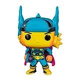 Funko- Pop Marvel Black Light Thor Juguete coleccionable, Multicolor (48847)