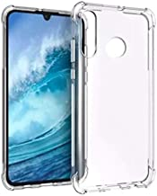 Huawei Nova 4 Case Cover Flexible Bumper with Reinforced Corners Transparent Protective Case for Huawei Nova 4 (Clear) by Nice.Store.UAE