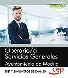 OPERARIO/A SERVICIOS GENERALES AYUNTAMIENTO DE MADRID Test y Simulacros de examen