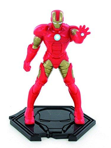Comansi- Figura Iron Man Vengadores Marvel, Color Rojo/Oro (96024)