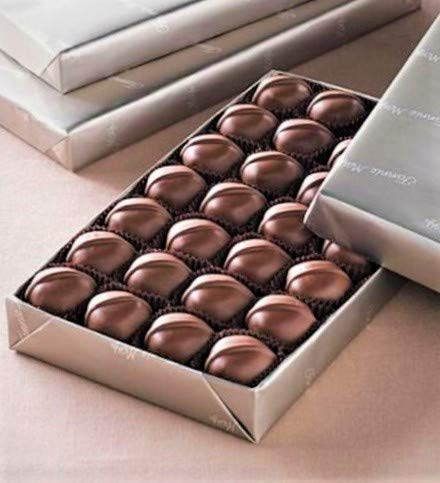 Fannie May Vanilla Buttercream Milk Chocolates-Gluten Free Platinum 1 LB Wrapped Gift Candy Candies