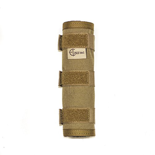 "HTP Suppressor Cover (Coyote Brown, 6"")"