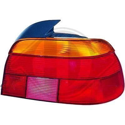 1223091 Feu arriere gauche (cote conducteur) pour B. Serie 5 Berline de type E39 de 1995 a 2000 Look Origine,