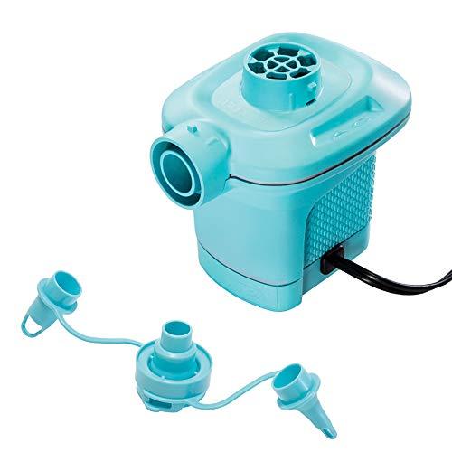 Intex 58640 - Inflador Eléctrico Invertible, Quick Fill 220 - 240 V, Azul