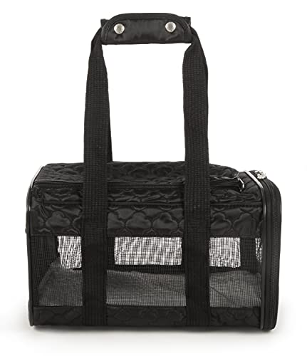 Sherpa Original Deluxe Airline Approved Pet Carrier, Soft Liner, Mesh Windows,...